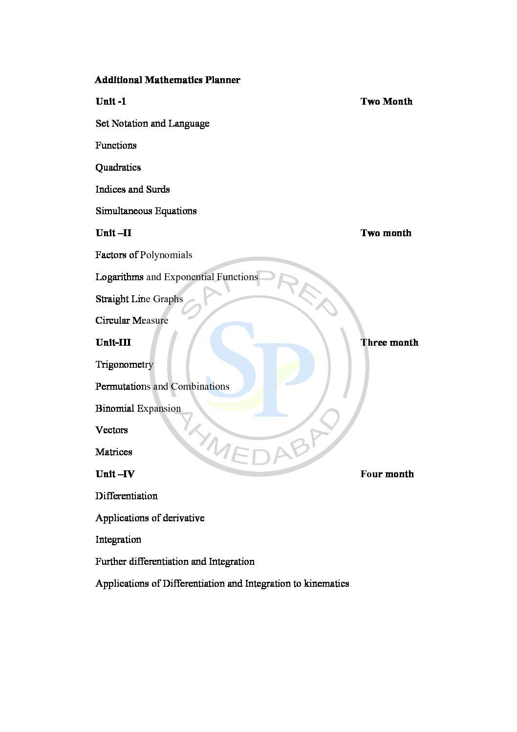 Additional math Planner Archives - SAT PREP
